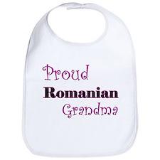 Proud Romanian Grandma Bib