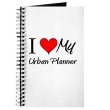 I Heart My Urban Planner Journal