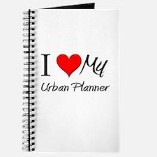 I Heart My Urban Planner Journal