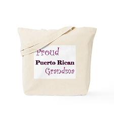 Proud Puerto Rican Grandma Tote Bag