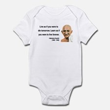 Gandhi 2 Infant Bodysuit