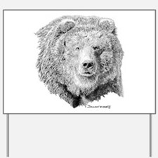 Grizzly Bear Yard Sign