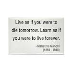 Gandhi 2 Rectangle Magnet (100 pack)