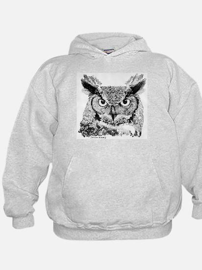 Horned Owl Hoody