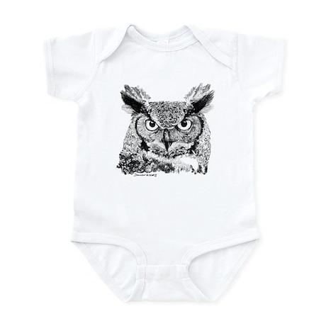 Horned Owl Infant Bodysuit