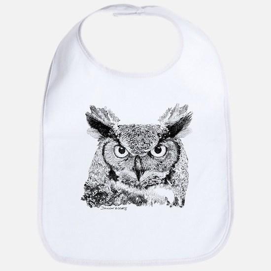 Horned Owl Bib