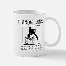 I KNOW JUDO Mug