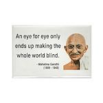 Gandhi 3 Rectangle Magnet (10 pack)