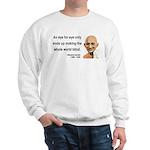 Gandhi 3 Sweatshirt