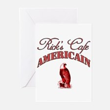 Rick's Cafe American Greeting Cards (Pk of 10)