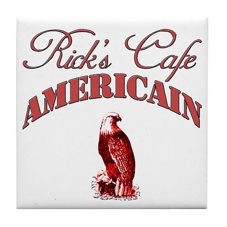 Rick's Cafe American Tile Coaster