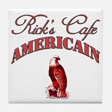 Rick's Cafe American Tile Coaster