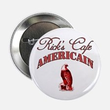 """Rick's Cafe American 2.25"""" Button"""