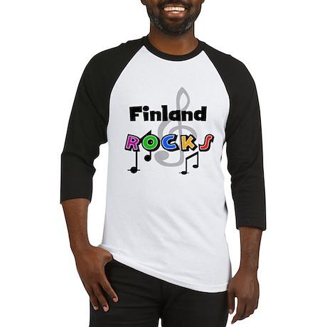 Finland Rocks Baseball Jersey