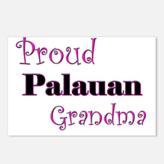 Proud Palauan Grandma Postcards (Package of 8)