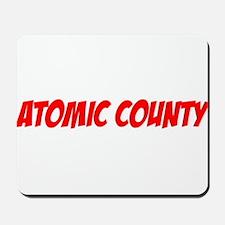 """Atomic County"" Mousepad"