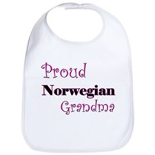 Proud Norwegian Grandma Bib