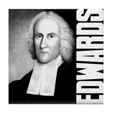 Jonathan Edwards Tile Coaster