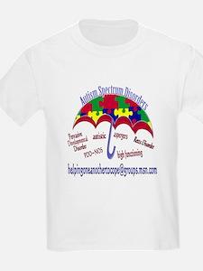 AUTISM Spectrum Umbrella T-Shirt