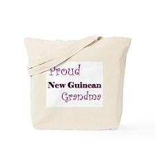 Proud New Guinean Grandma Tote Bag
