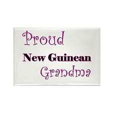 Proud New Guinean Grandma Rectangle Magnet