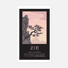 Zen Rectangle Decal