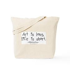 Art & Life Tote Bag
