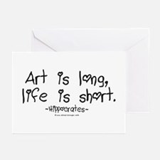 Art & Life Greeting Cards (Pk of 10)