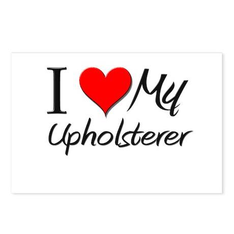 I Heart My Upholsterer Postcards (Package of 8)