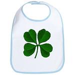 Lucky Four Leaf Clover Bib