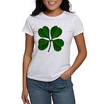 Lucky Four Leaf Clover Women's T-Shirt