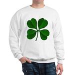 Lucky Four Leaf Clover Sweatshirt