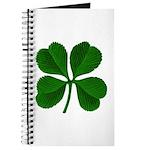 Lucky Four Leaf Clover Journal