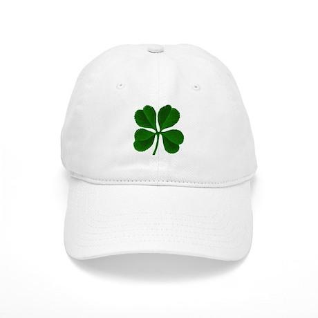 Lucky Four Leaf Clover Cap