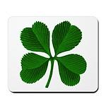 Lucky Four Leaf Clover Mousepad