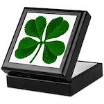 Lucky Four Leaf Clover Keepsake Box