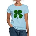 Lucky Four Leaf Clover Women's Light T-Shirt