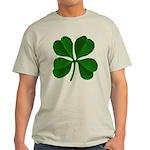 Lucky Four Leaf Clover Light T-Shirt