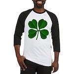 Lucky Four Leaf Clover Baseball Jersey