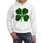Lucky Four Leaf Clover Hooded Sweatshirt