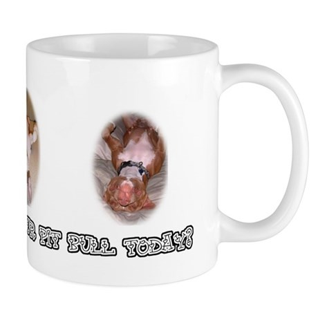 """Have You Hugged Your Pit Bull Today?"" Mug"