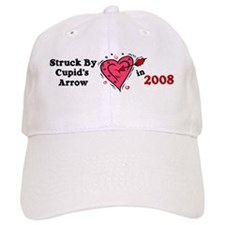Struck By Cupid's Arrow 1 (2008) Baseball Cap
