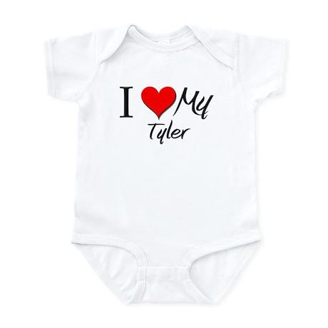 I Heart My Tyler Infant Bodysuit