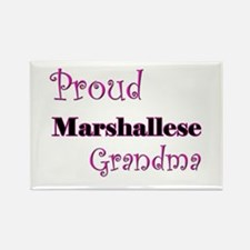 Proud Marshallese Grandma Rectangle Magnet