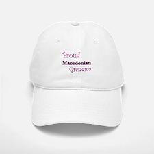 Proud Macedonian Grandma Baseball Baseball Cap