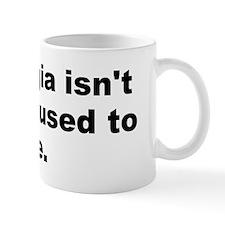 Peter de vries quotation Mug