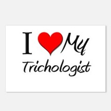 I Heart My Trichologist Postcards (Package of 8)