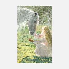 Unicorn and Diana Decal