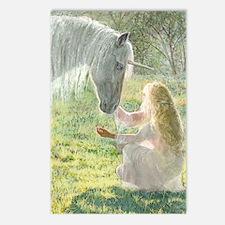 Unicorn and Diana Postcards (Pk of 10)