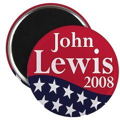 John Lewis for President in 2008 (Magnet)